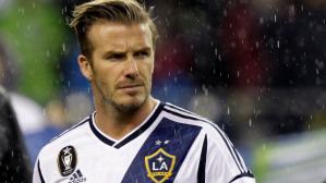 Los Angeles Galaxy homenajearán a David Beckham con una estatua. (Getty Images)