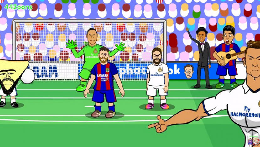 YouTube: la divertida parodia del Real Madrid vs. Barcelona