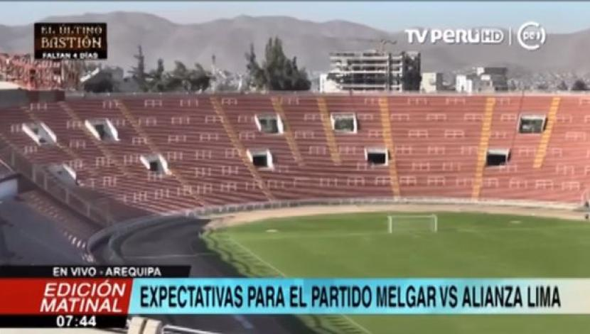 Estadio Monumental de la UNSA de Arequipa. (TV Perú)
