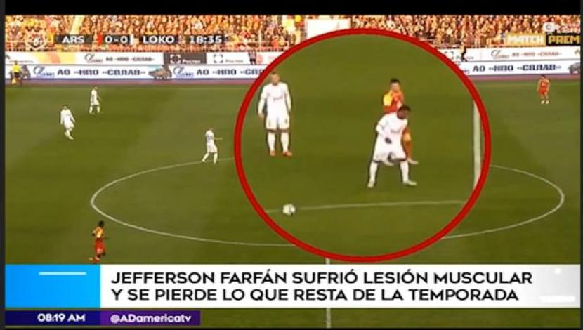 Jefferson Farfán + América TV