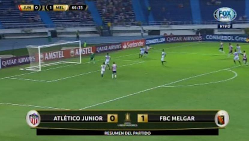 Mira el resumen del partido entre Junior y Melgar por la Copa Libertadores. (Video: FOX Sports)