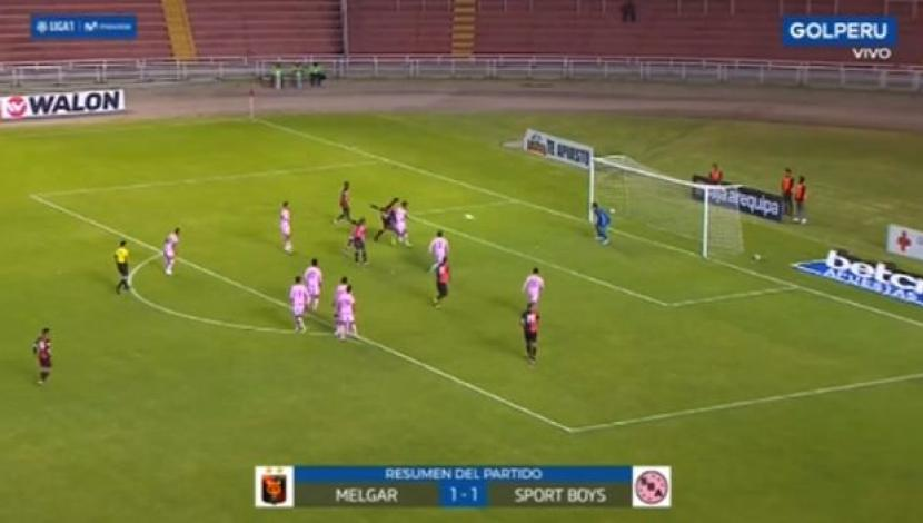 Melgar vs. Sport Boys LIVE: 1-1 draw in Arequipa for the League 1 | VIDEO