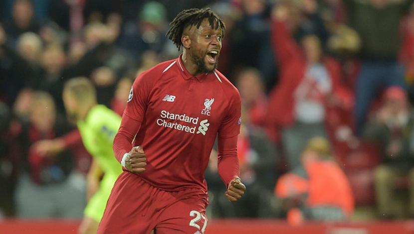 Divock Origi. (Getty Images)