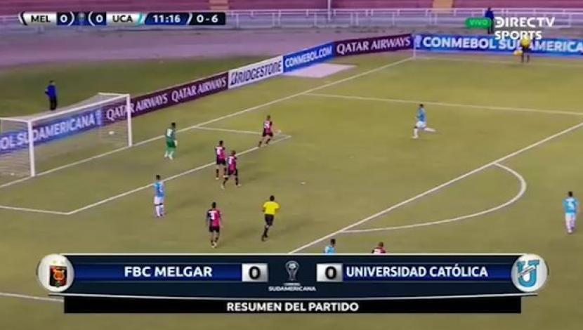 Ver resumen completo del partido entre Melgar vs. Universidad Católica. (Video: DirecTV Sports)