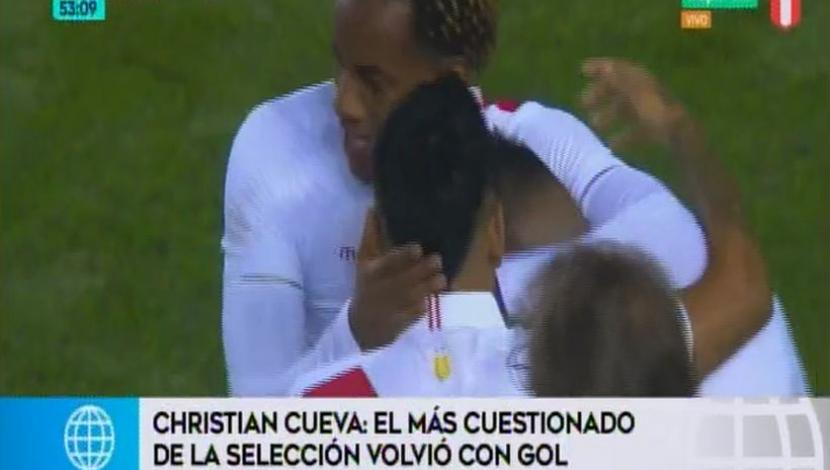 Christian Cueva + América TV