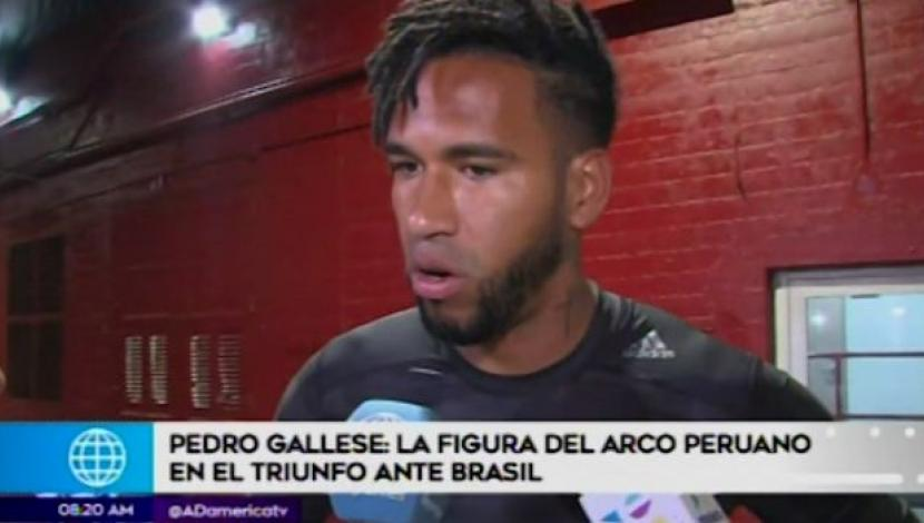 Pedro Gallese: la figura ante Brasil. (Video: América TV)
