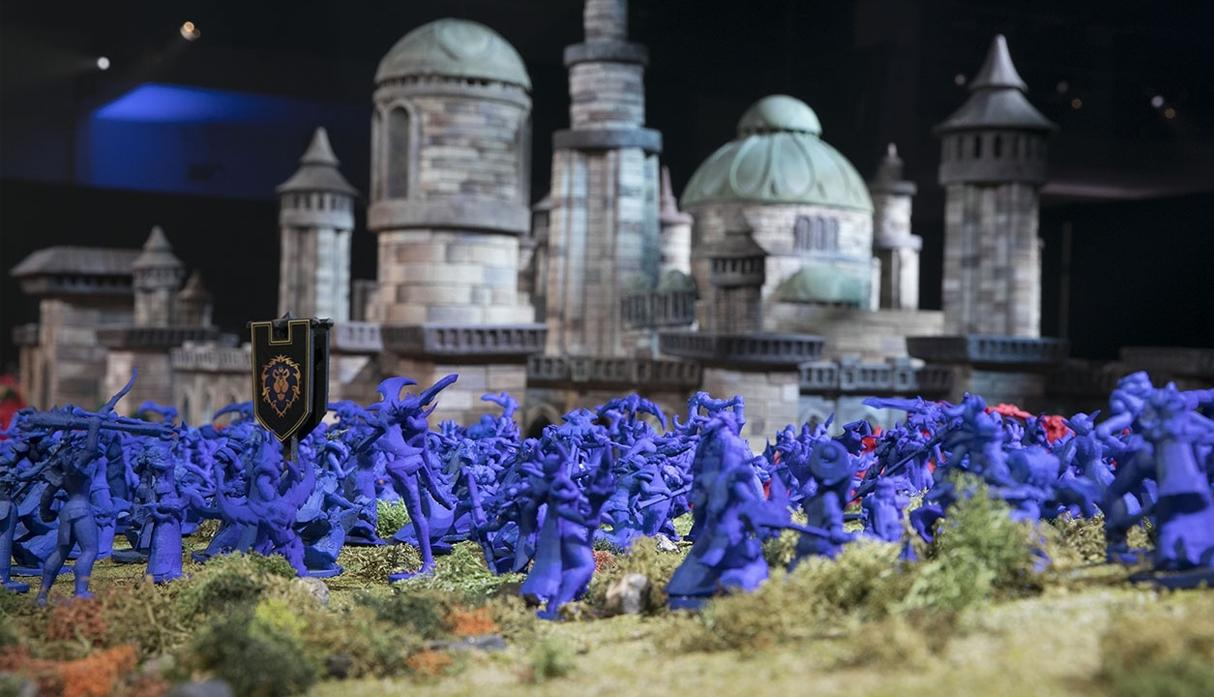 Battle for Lordaeron Diorama