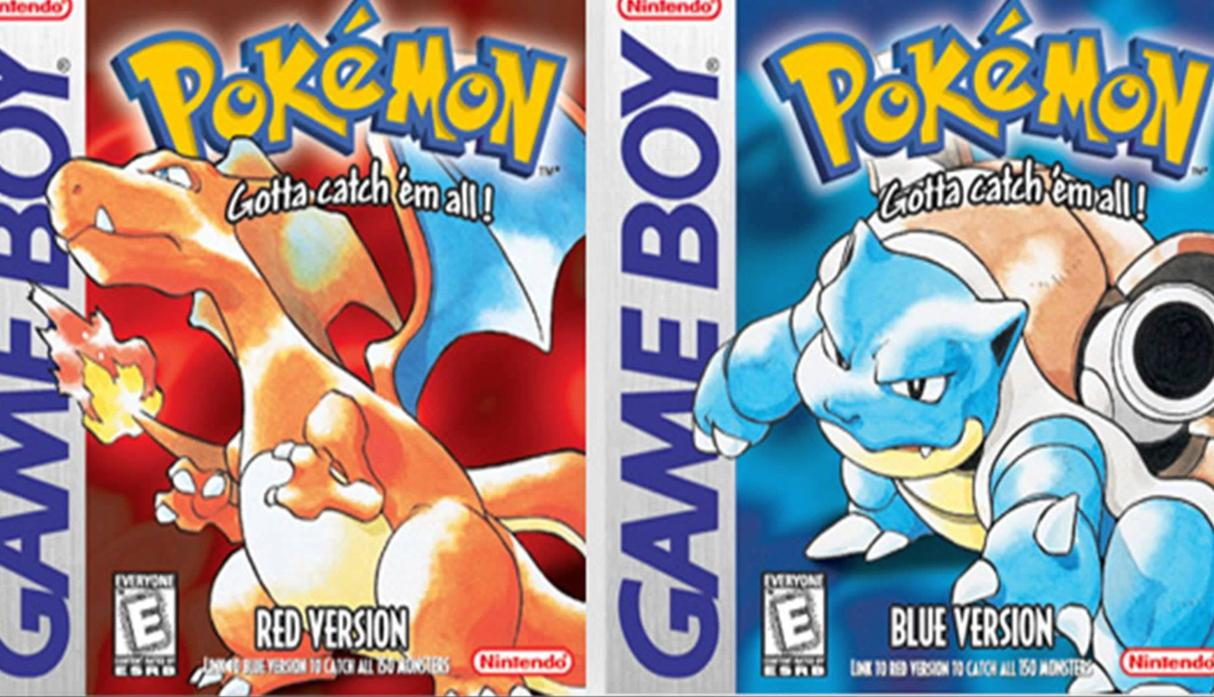 Pokémon Red, Green and Blue