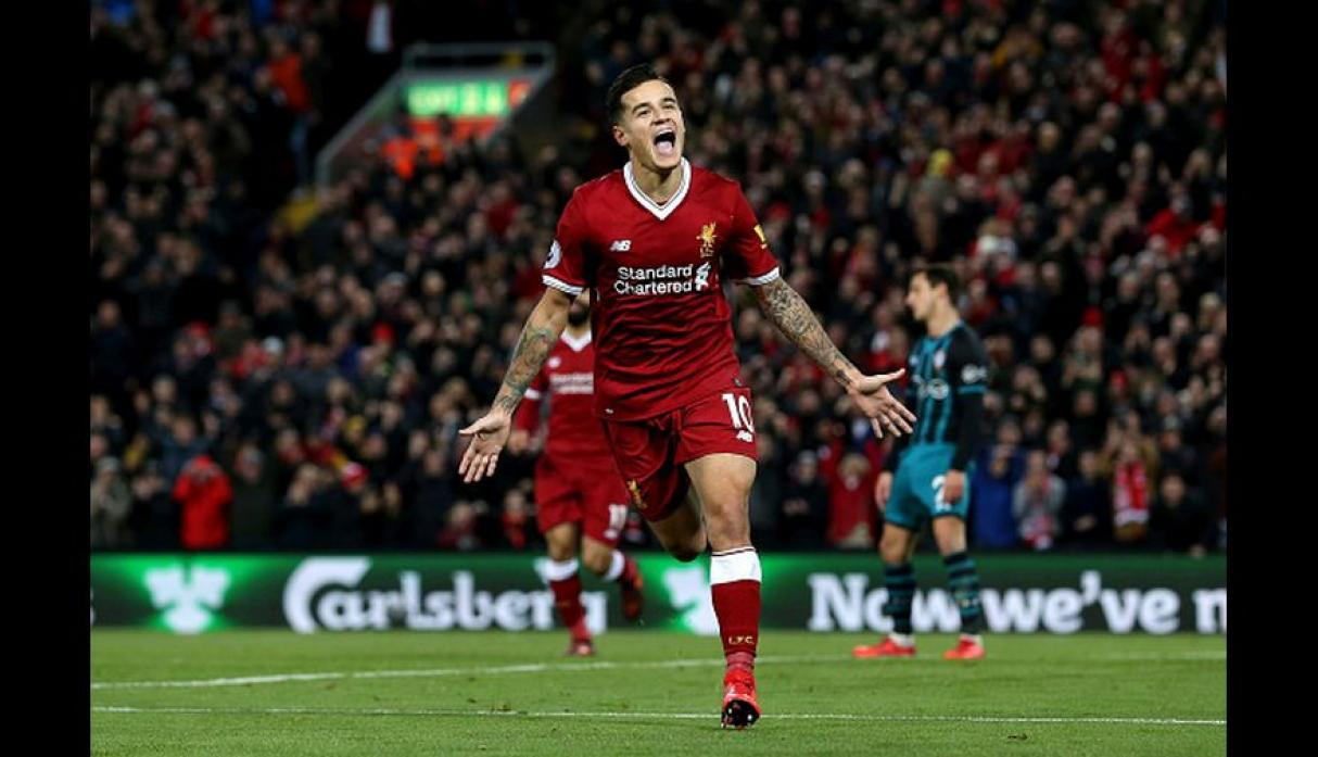 8. Philippe Coutinho (Brasil): 38 goles (Foto: Getty Images).