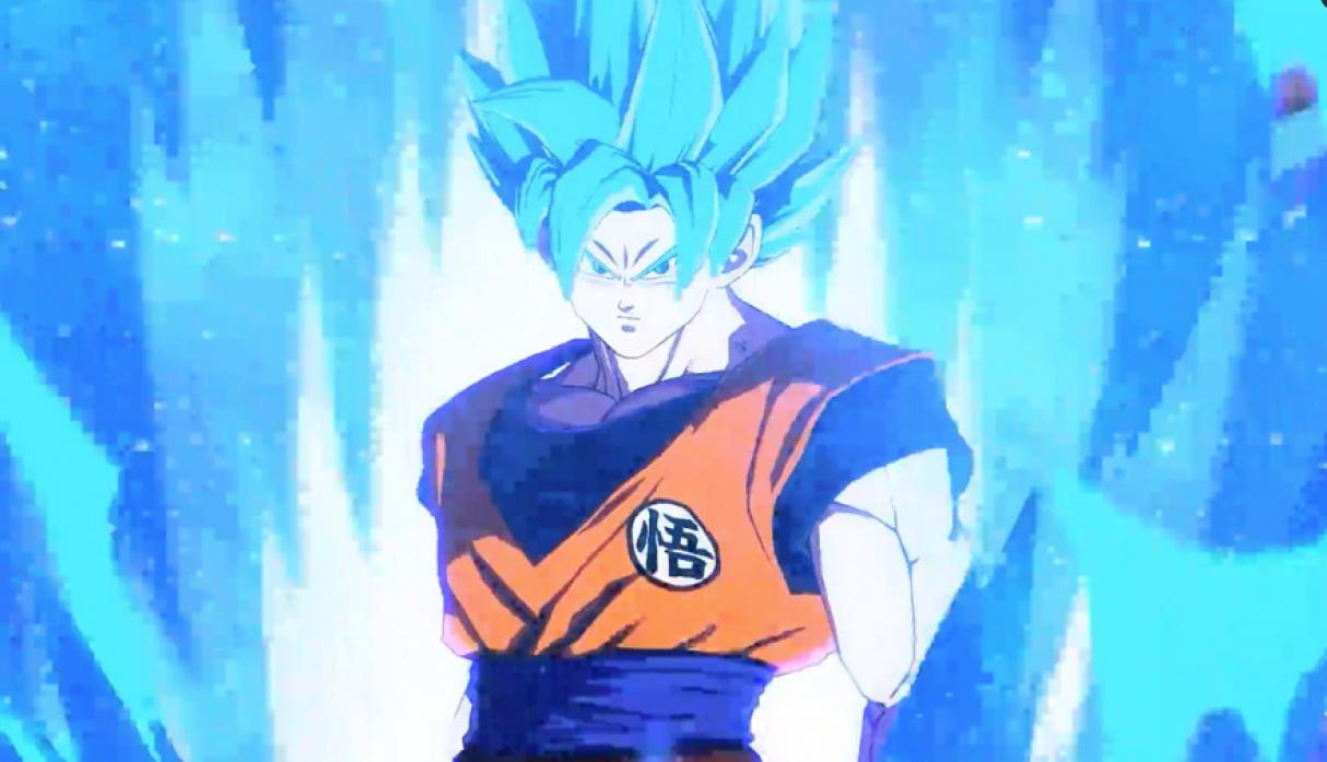 Goku Super Saiyan Azul - Personajes de Dragon Ball FightersZ. (Foto: Bandai Namco)