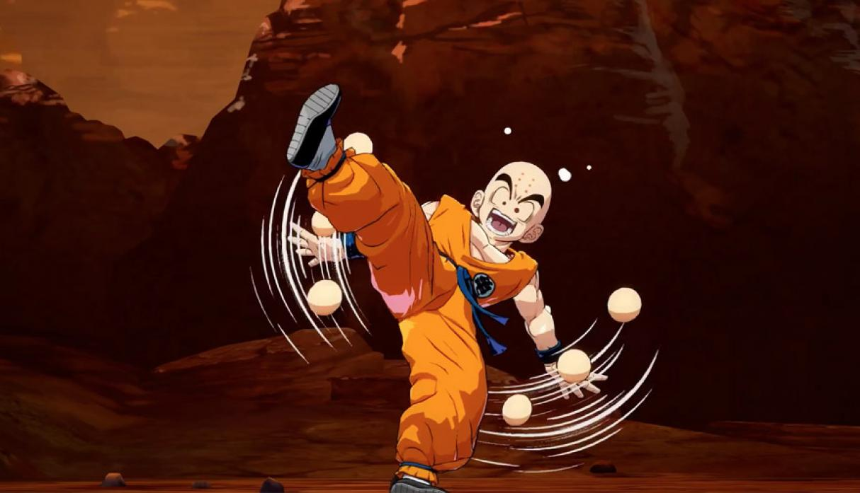 Krillin - Personajes de Dragon Ball FightersZ. (Foto: Bandai Namco)
