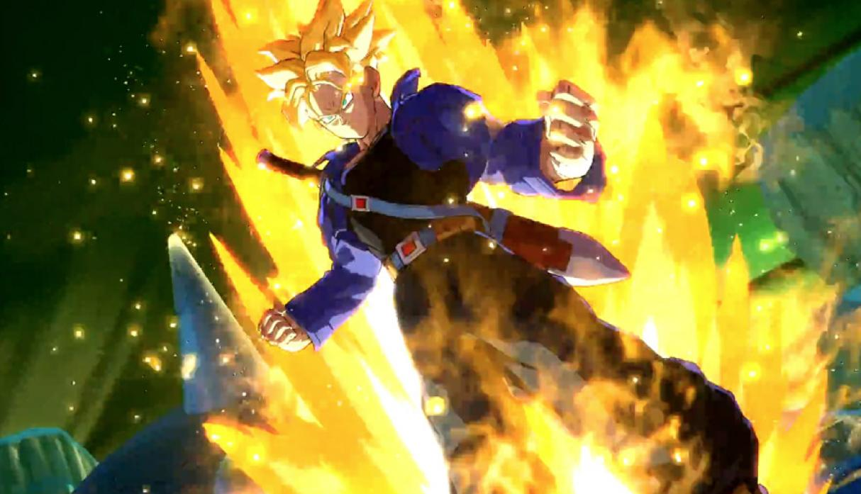 Trunks del futuro - Personajes de Dragon Ball FightersZ. (Foto: Bandai Namco)