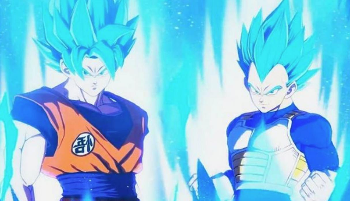 Vegeta Super Saiya Azul - Personajes de Dragon Ball FightersZ. (Foto: Bandai Namco)