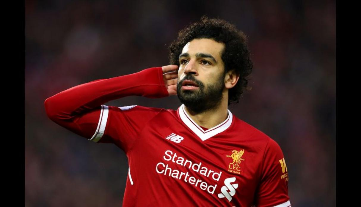 Mohamed Salah con 6 goles (Foto: Getty Images).