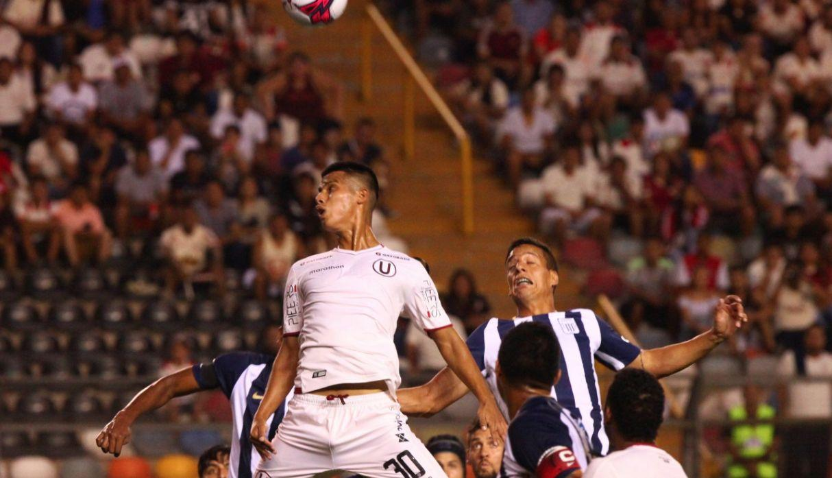 Universitario de Deportes vs. Alianza Lima. (@Universitario)