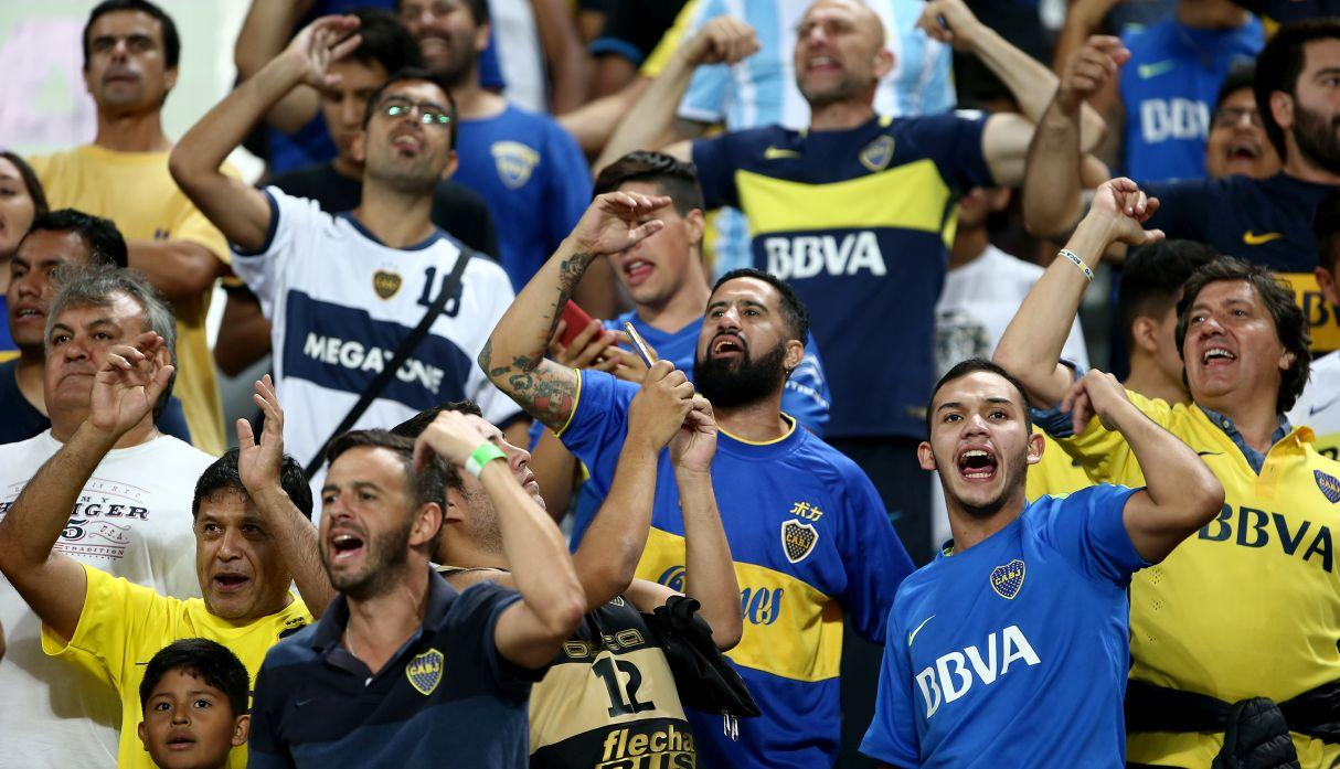 Alianza Lima vs. Boca juniors. (Getty Images)