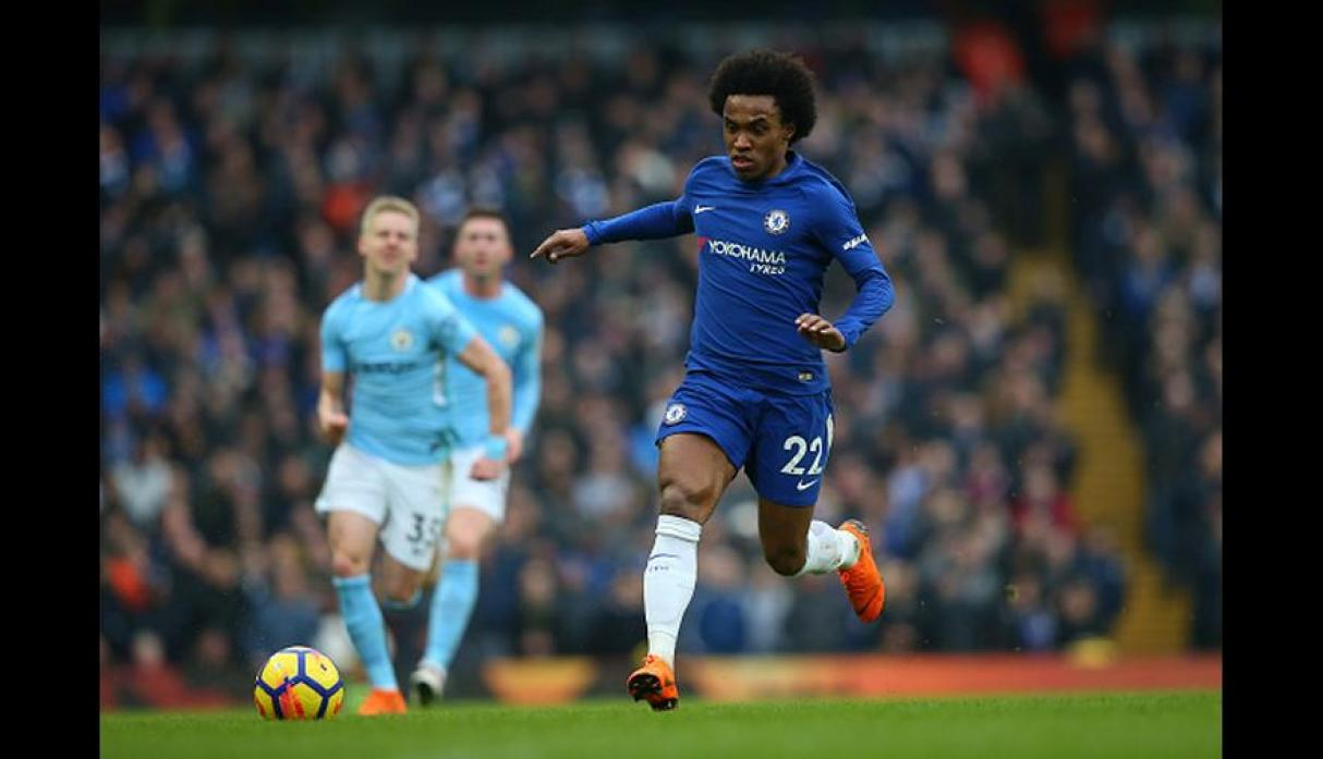 Willian (Foto: Getty Images).