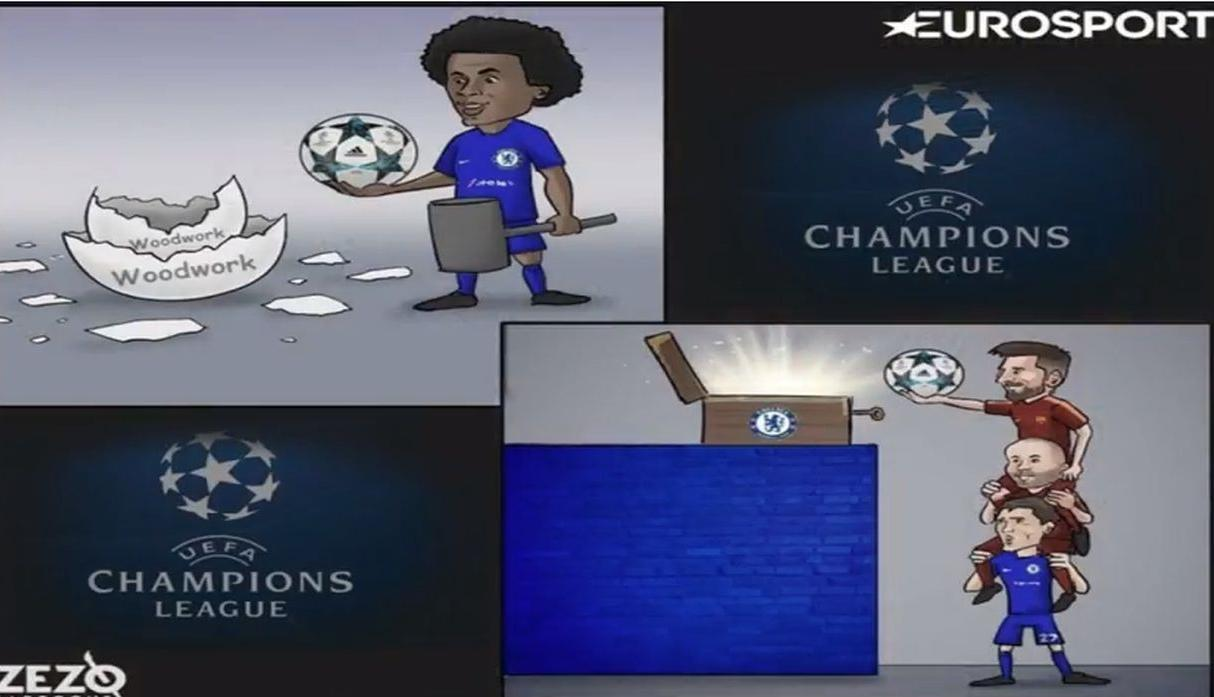 Memes del Barcelona vs Chelsea por Champions League.