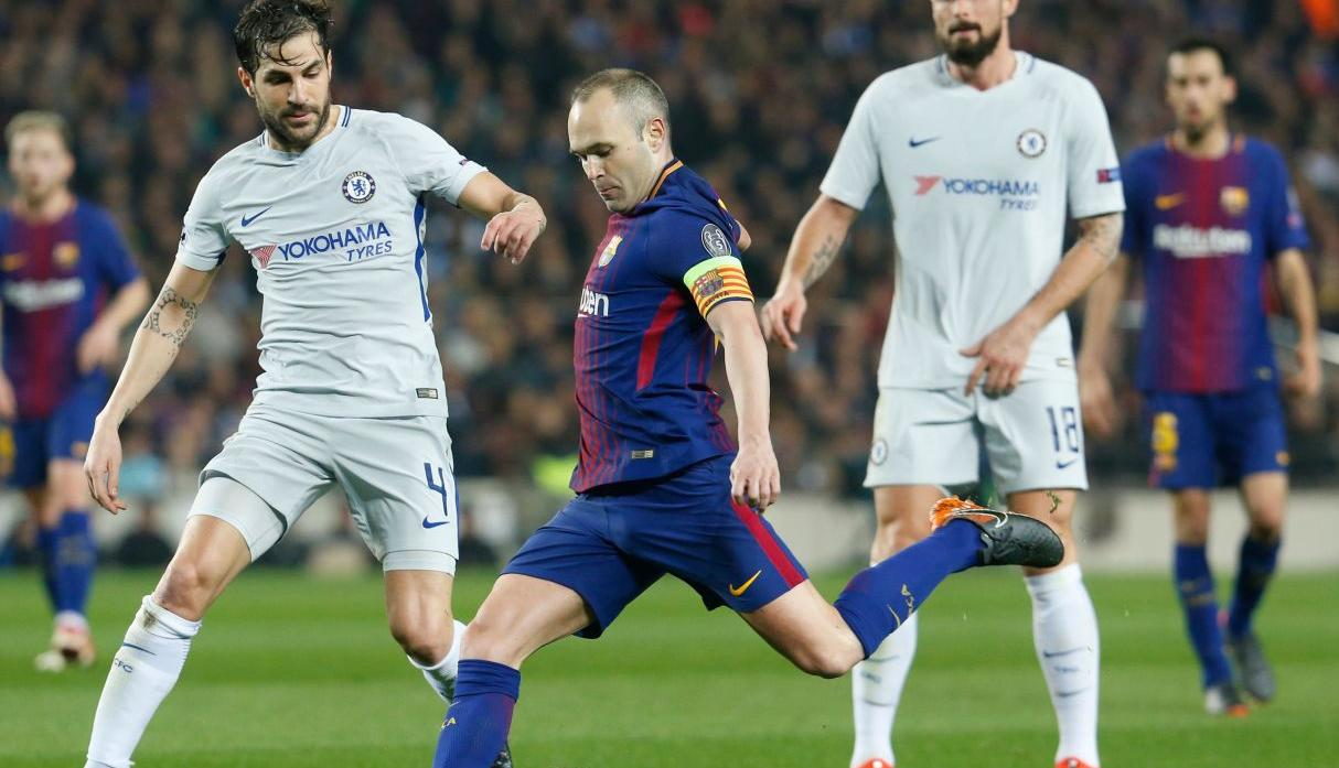 Barcelona vs Chelsea por Champions League. (AFP)