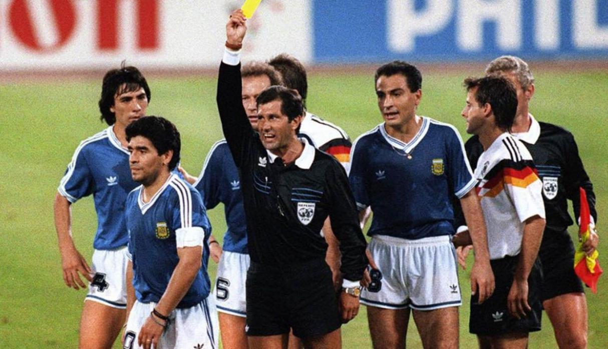 Alemania vs. Argentina final italia 1990