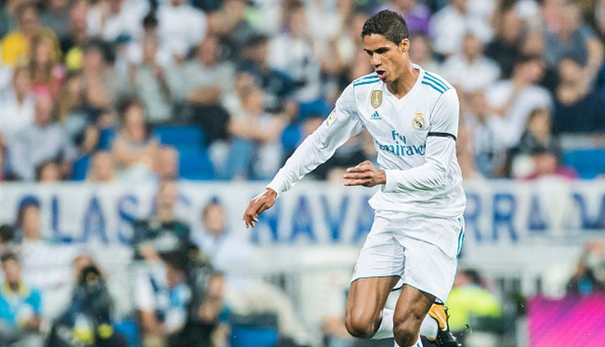 Raphael Varane, defensa del Real Madrid, tiene un valor de mercado de 63.3 millones de euros. (Getty Images)