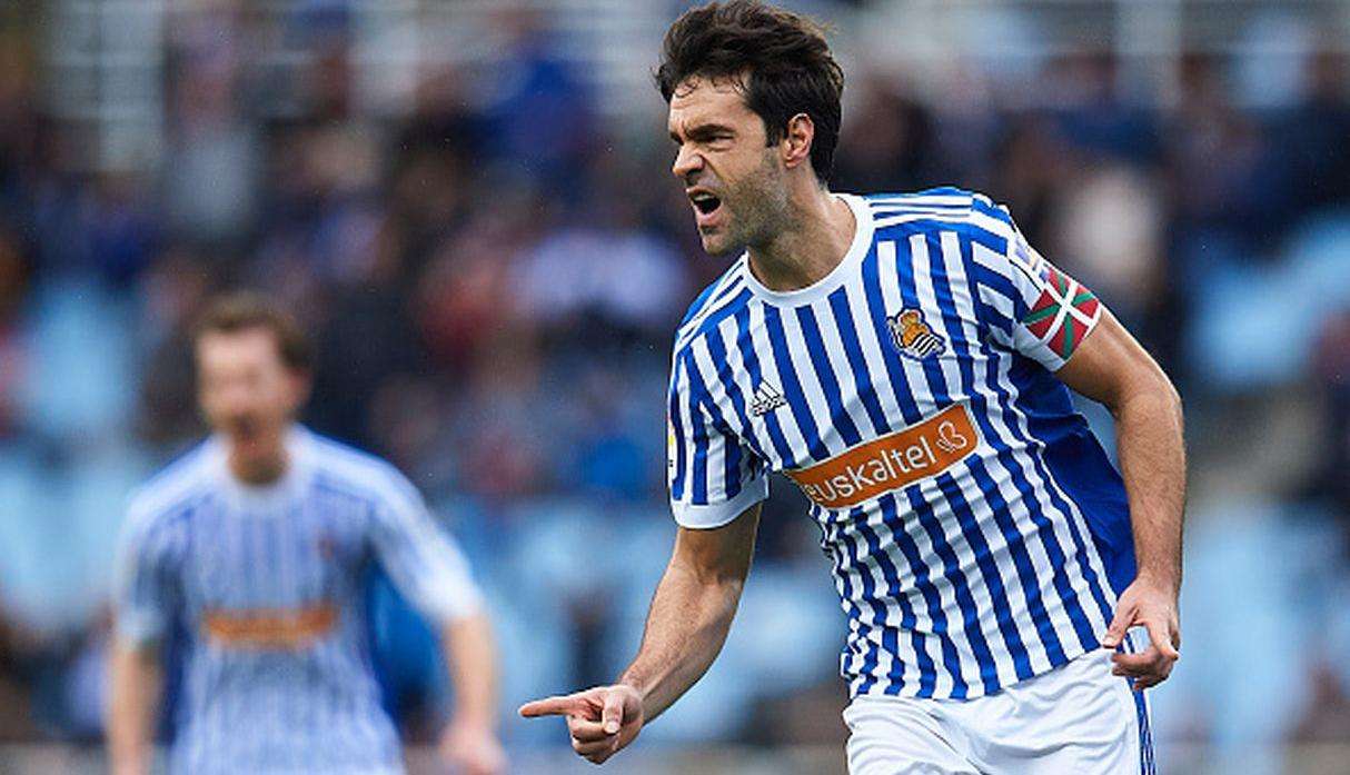 Xabi Prieto | Real Sociedad. (Getty)