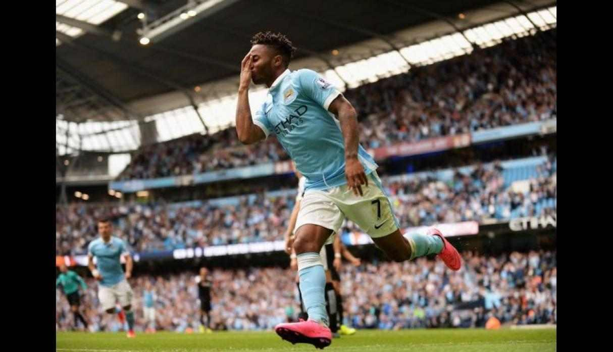 22. Raheem Sterling (Manchester City), con 18 goles y 36 puntos. (Getty Images)