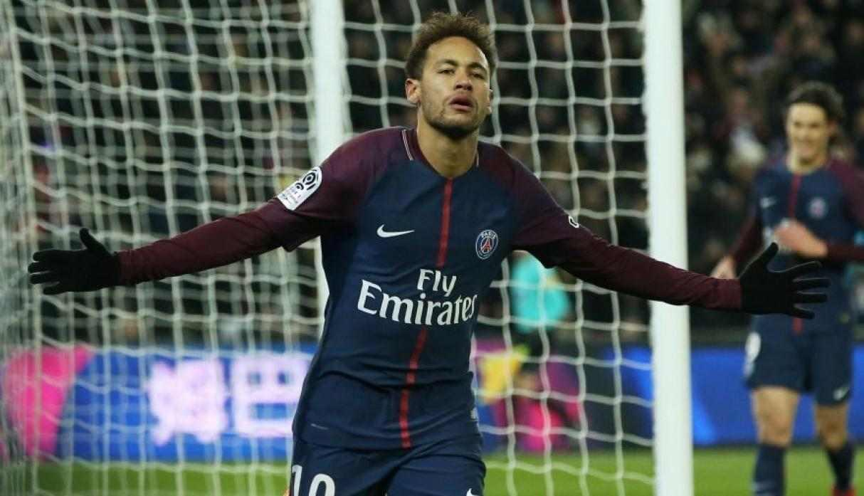 17.- Neymar (PSG), con 20 goles y 40 puntos. (Getty Images)