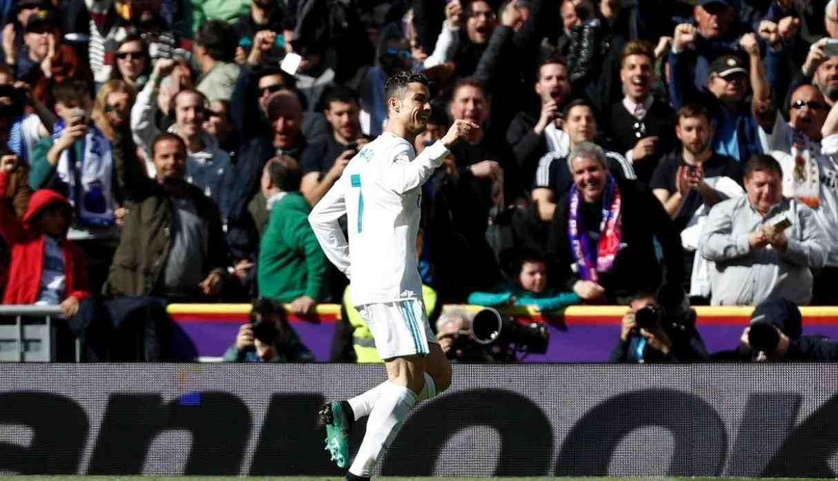 8.- Cristiano Ronaldo (Real Madrid), con 25 goles y 50 puntos. (Getty Images)