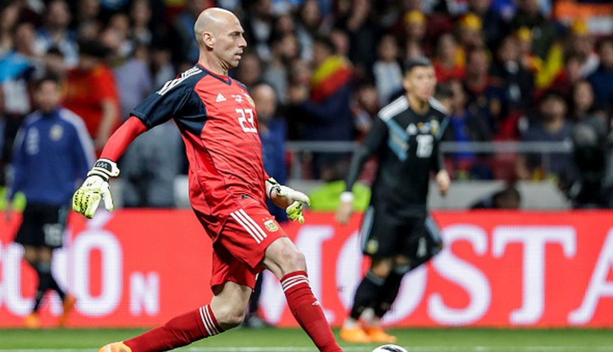 2. Willy Caballero