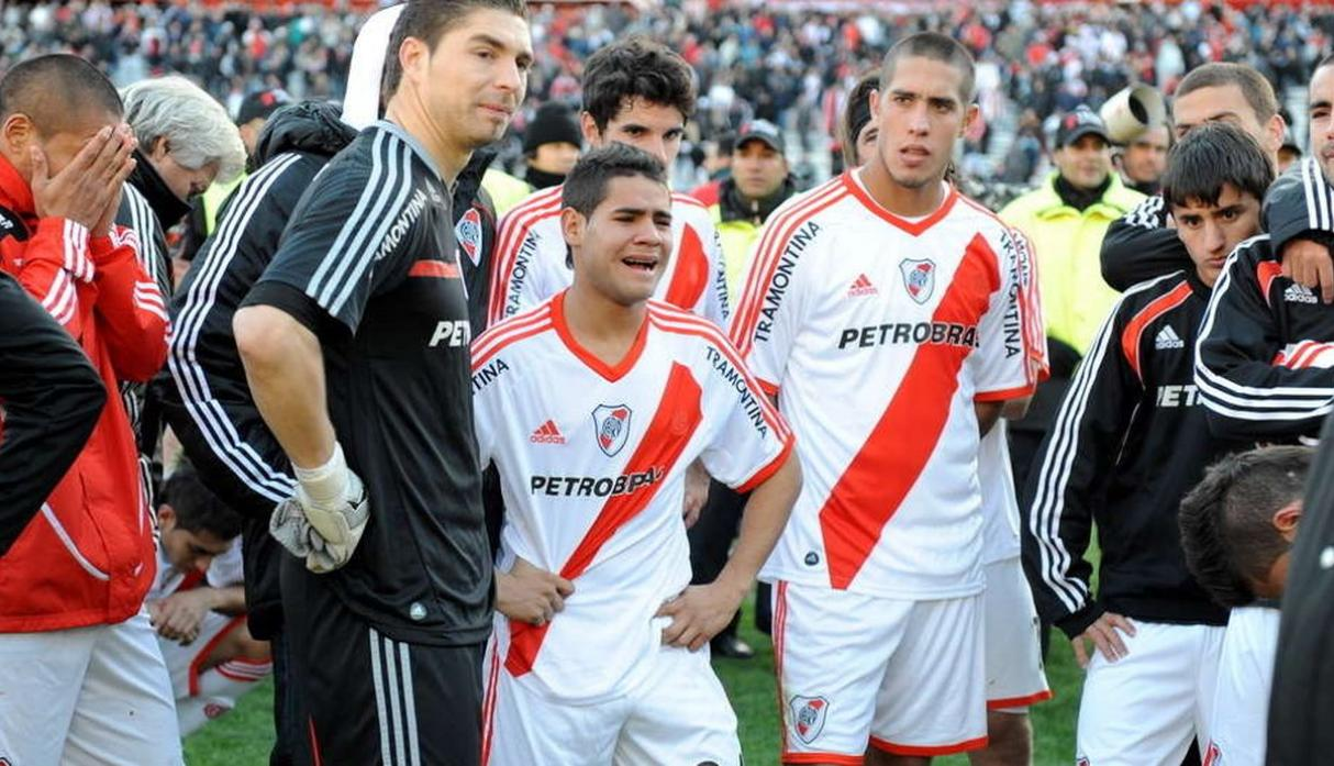 Club: River Plate | Descendió en: 2011 | Volvió a Primera en: 2012. (Getty)