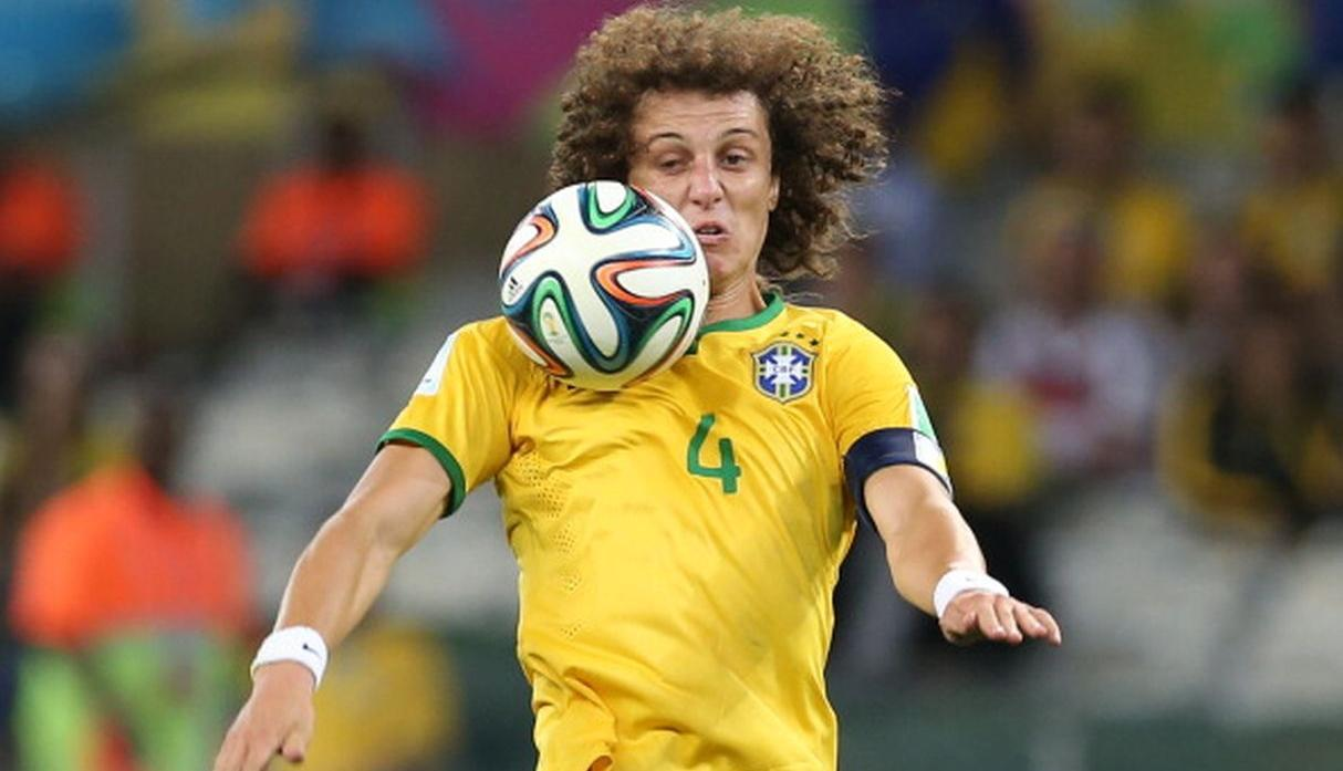 David Luiz - Brasil. (Getty)