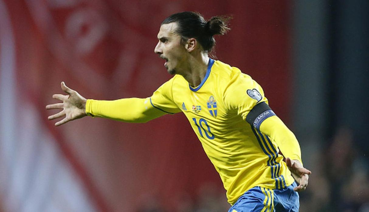 Ibrahimovic - Suecia. (Getty)
