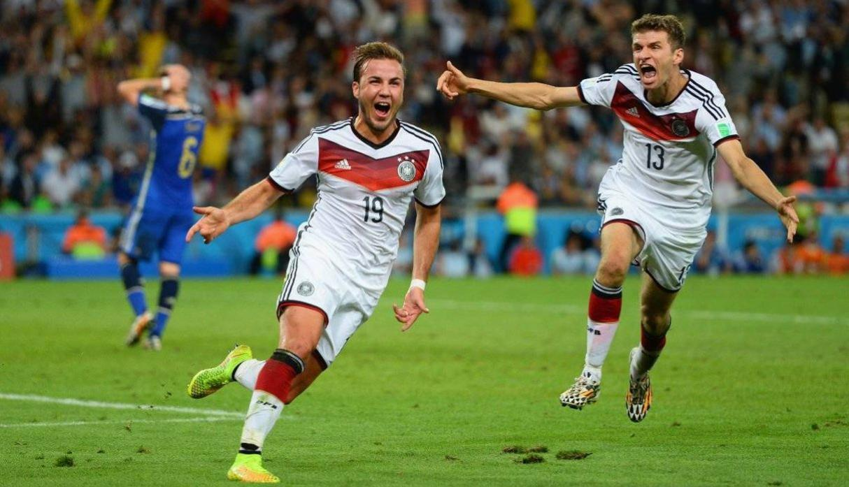 Goetze - Alemania. (Getty)
