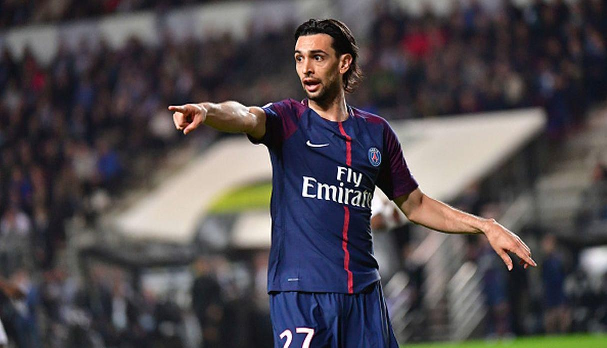 Javier Pastore, centrocampista del PSG. (Getty Images)