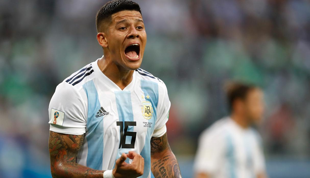 Marcos Rojo (Argentina) | Foto: Getty Images
