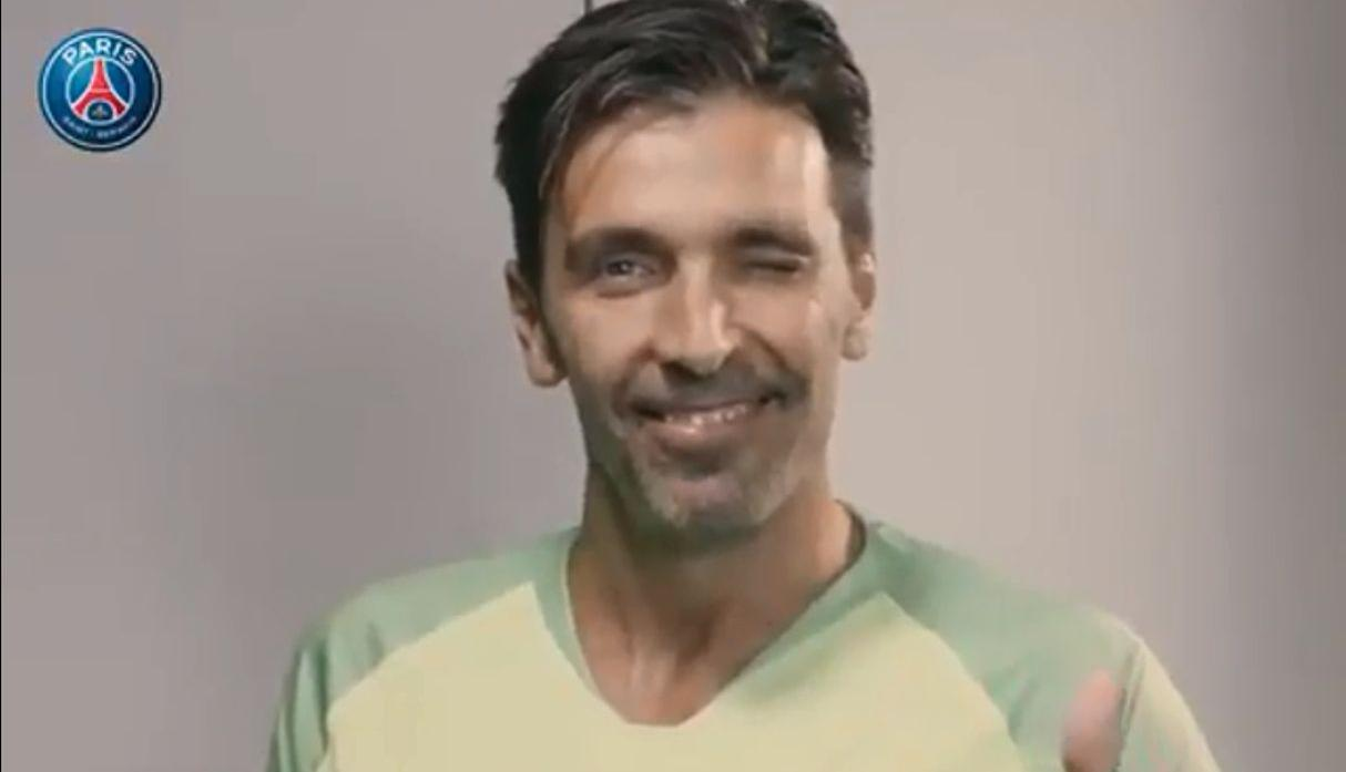 Gianluigi Buffon. (@PSG_inside)