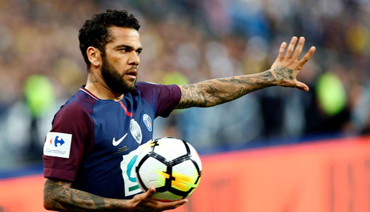 Dani Alves. (Getty Images)