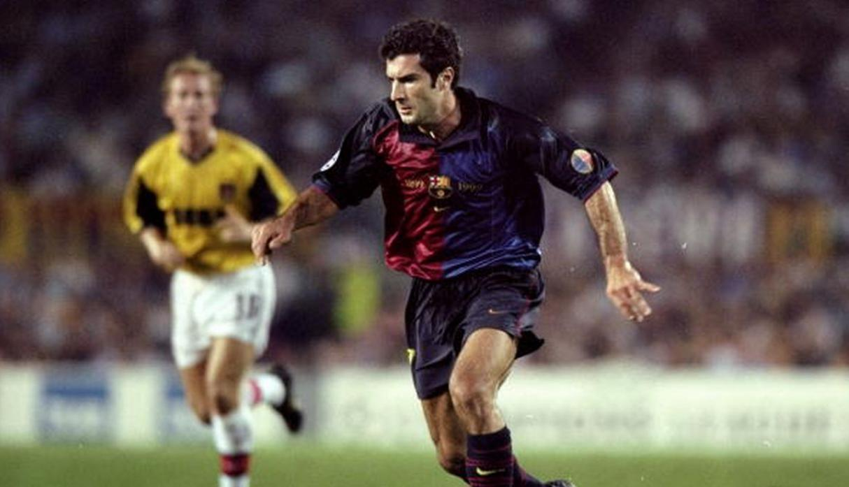 Figo | Real Madrid pagó 60 millones. (Getty Images)