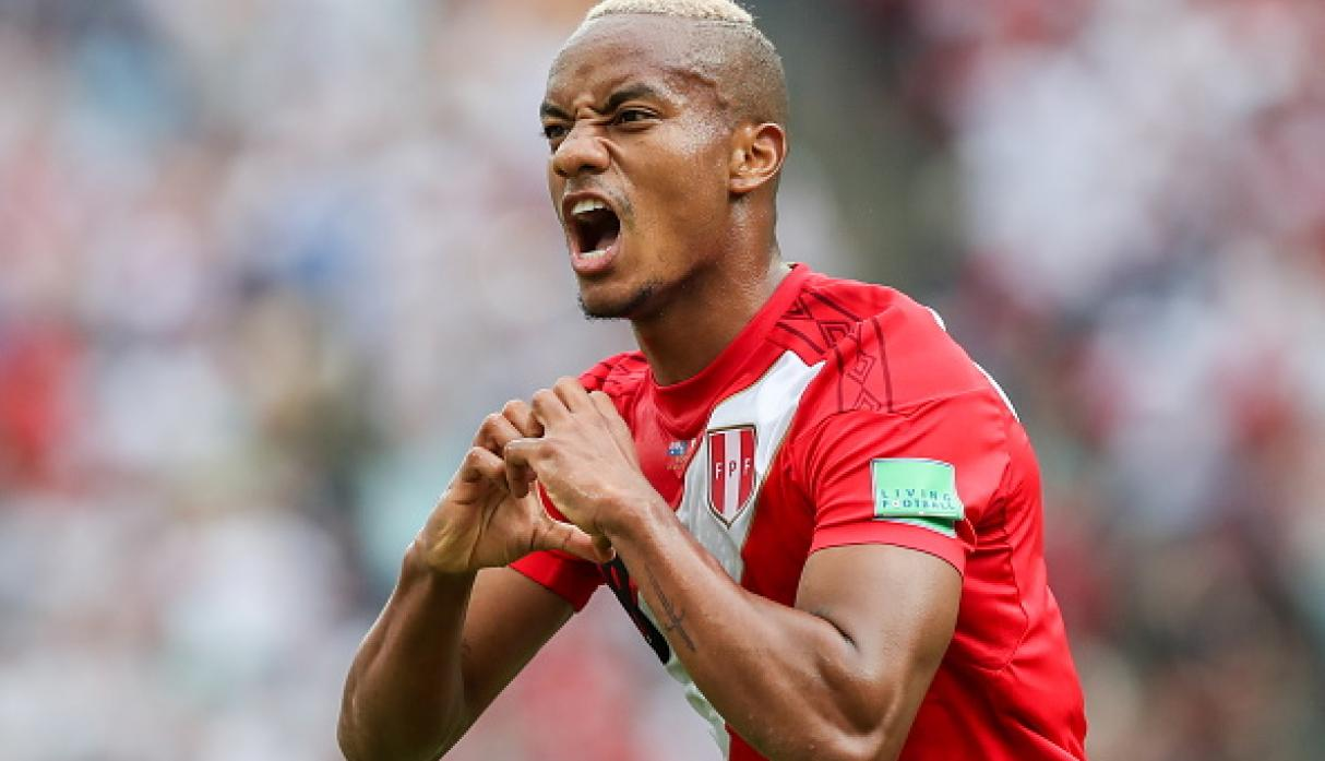 André Carrillo | Perú | Subió a 8 millones de euros. (Getty Images)