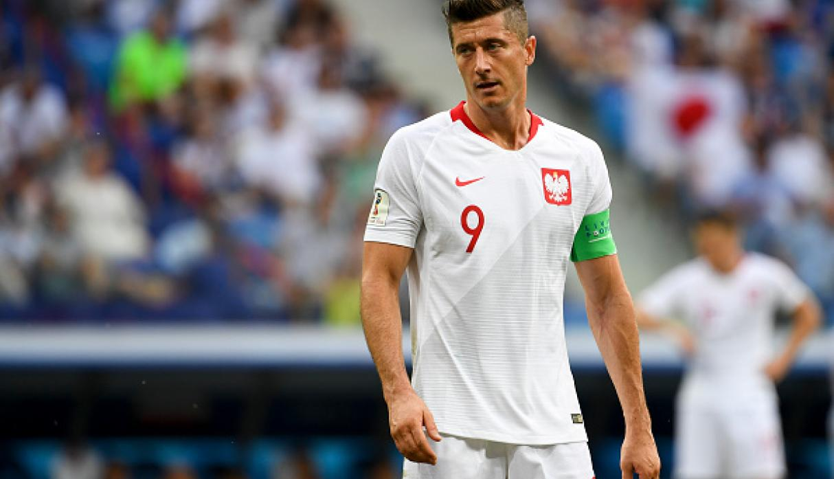 Robert Lewandowski | Polonia | Bajó a 85 millones de euros. (Getty Images)