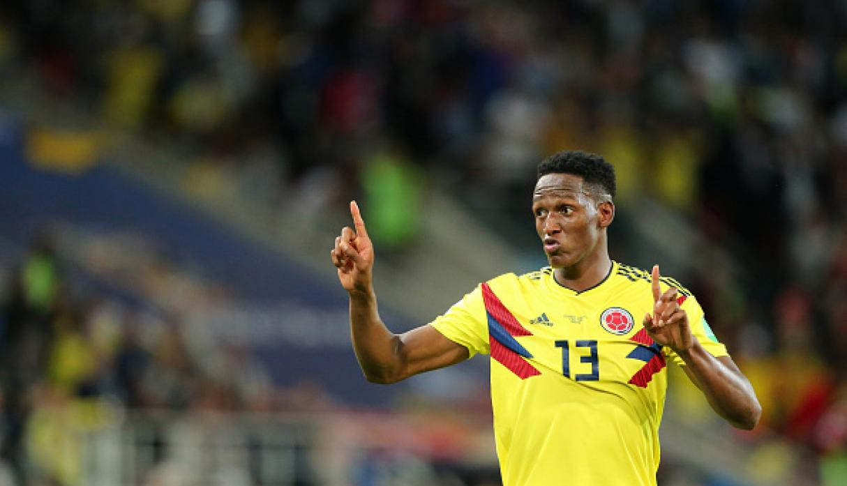Yerry Mina | Colombia | Subió a 20 millones de euros. (Getty Images)
