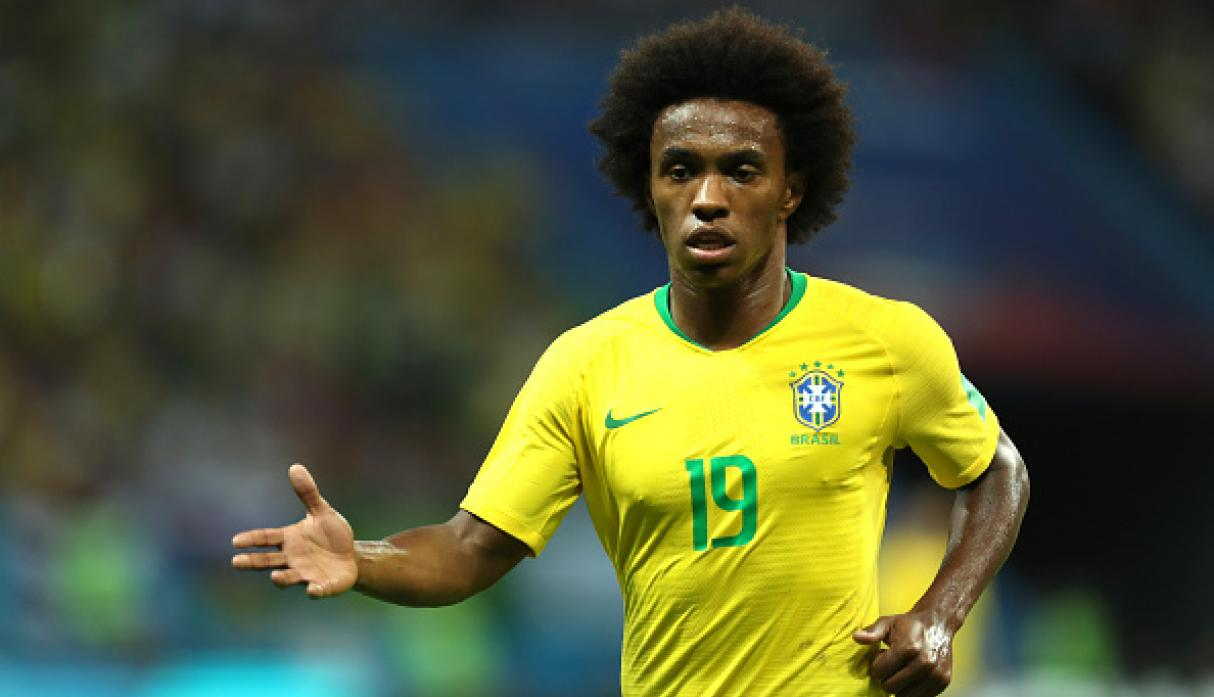 Willian | Brasil | Subió a 38 millones de euros. (Getty Images)