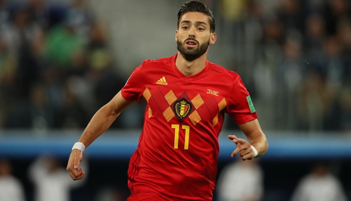 Yannick Carrasco | Bélgica | Bajó a 22 millones de euros. (Getty Images)