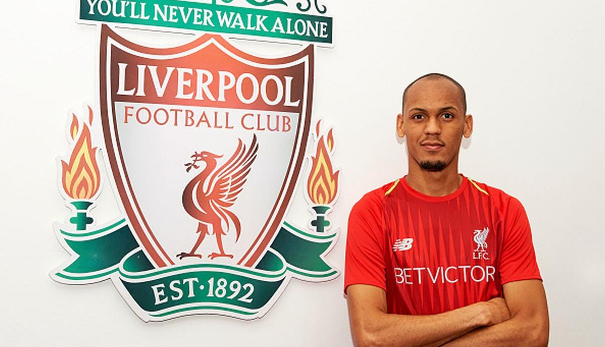 Fabinho llegó esta temporada al Liverpool. (Getty)