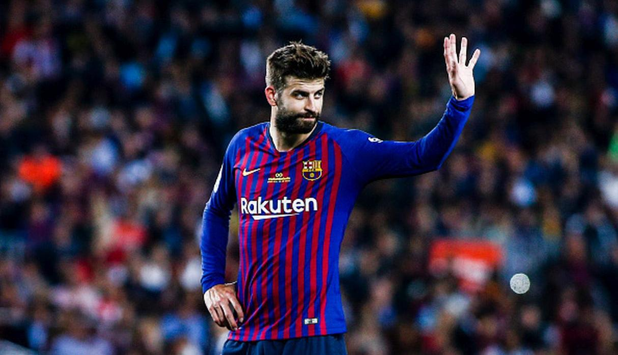 Gerard Piqué. (Getty)