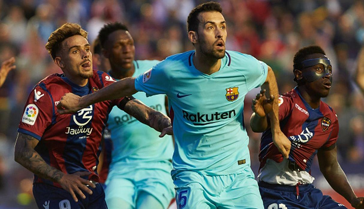 Busquets. (Getty)