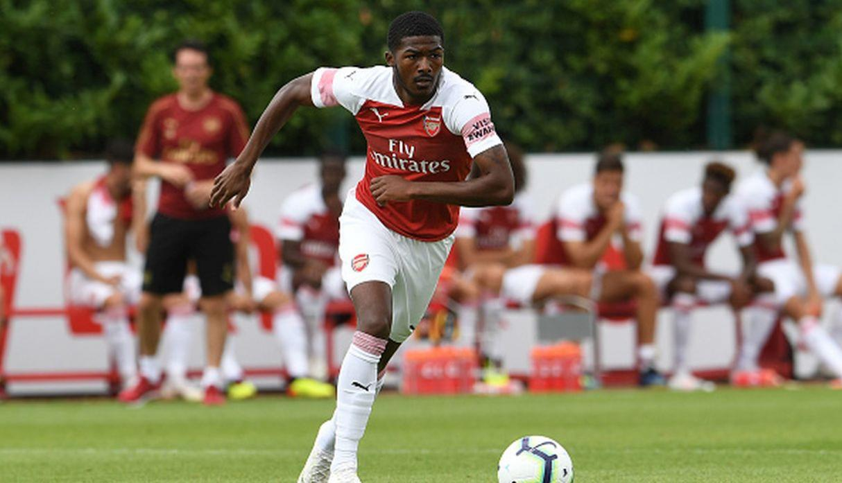Ainsley Maitland-Niles. (Getty Images)