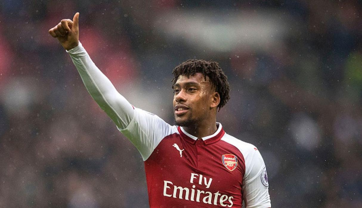 Alex Iwobi. (Getty Images)