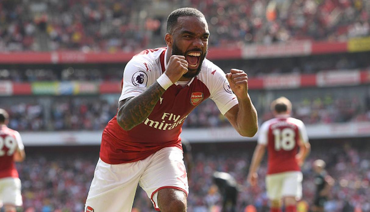 Alexandre Lacazette. (Getty Images)